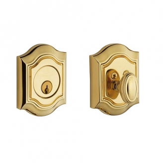 Baldwin 8237 Single Cylinder 031 Non-lacquered Brass