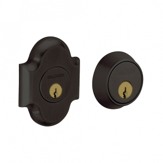 Baldwin 8253 Double Cylinder 102 Oil Rubbed Bronze