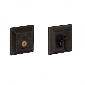 Baldwin 8254 Single Cylinder 402 Distressed Oil Rubbed Bronze
