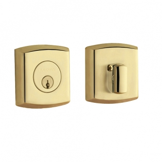 Baldwin 8285 Single Cylinder 031 Non-lacquered Brass