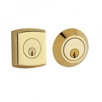 Baldwin 8286 Double Cylinder 031 Non-lacquered Brass