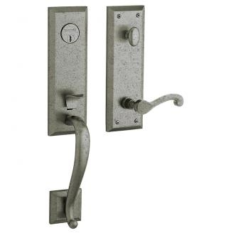 Baldwin Estate 85355 Stonegate Handleset Distressed Antique Nickel (452)