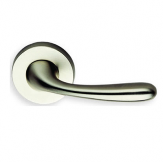 Omnia 905 Lever Latchset Satin Chrome (US26D)