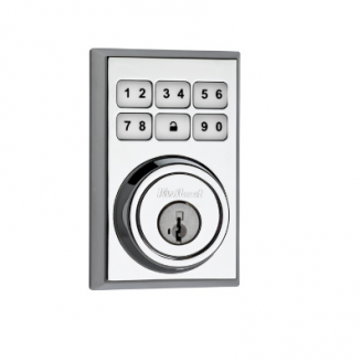 Kwikset 909CNT-SMT 26 Polished Chrome