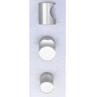 Omnia 9153 Stainless Steel Cabinet Knob