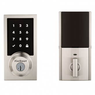 Kwikset 915CNT Contemporary Touchscreen Electronic Deadbolt with Smartkey