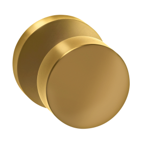 Omnia 935md Modern Door Knob Set With Modern Rose From The