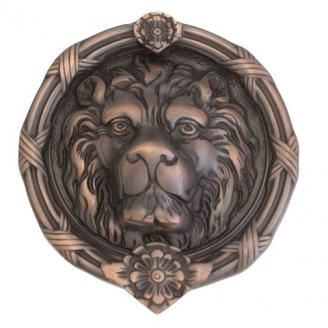Brass Accents A07-K5100 Leo Lion Knocker Venetian Bronze (613VB)