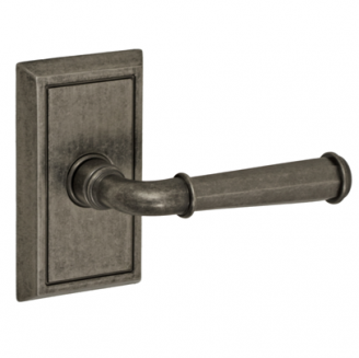 Fusion St. Charles Lever Set AN with Shaker Rose in Antique Pewter