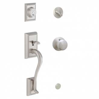 Schlage F60 Addison Handleset From The F Series Low