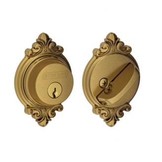 Schlage B60-BRK Single Cylinder Grade 1 Brookshire Deadbolt
