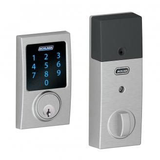 Schlage BE469NX-CEN Century Touch Screen Deadbolt with Nexia Home Intelligence &