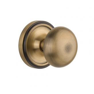 Nostalgic Warehouse New York Privacy Mortise with Classic Rose Antique Brass