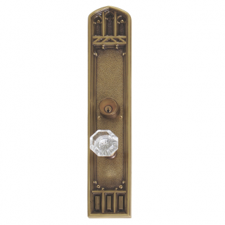 Brass Accents Renaissance Collection Oxford Entrance Set