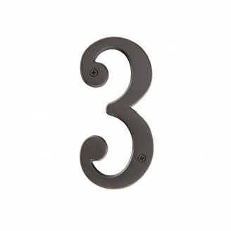 Emtek Solid Brass House Numbers 4 Quot Or 6 Quot Low Price