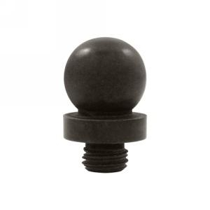 Deltana Solid Brass Ball Tip Finial For 6