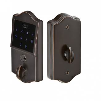 Emtek E3002 EMTouch Classic Style Electronic Deadbolt in Oil Rubbed Bronze