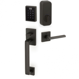 Emtek EMPowered™ EMP1103 US10B Touchscreen Keypad Baden Entry Set - Connected by August