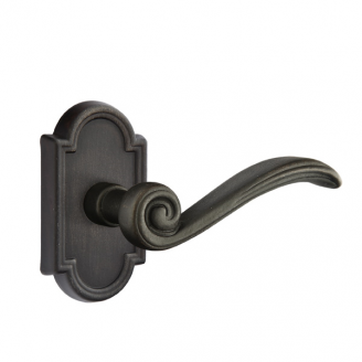 Emtek Medici Door lever with #11 Medium Bronze Patina (MB)