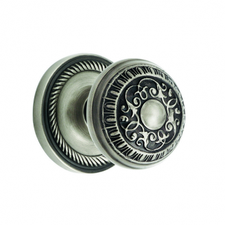 Nostalgic Warehouse Egg & Dart Privacy Mortise with Rope Rose Antique Pewter