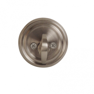 Emtek 8550 Solid Brass Single Sided Deadbolt Pewter (US15A)