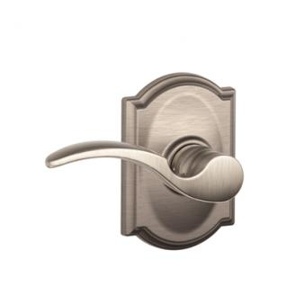 Schlage St. Annes Lever with Camelot Decorative Rose in