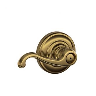 Schlage Callington Lever with Andover Decorative Rose Antique Brass