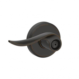 Schlage F40 Sac Gsn Sacramento Privacy Door Lever Set With