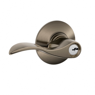 Schlage Accent F51 Acc Keyed Entry 620 Antique Pewter