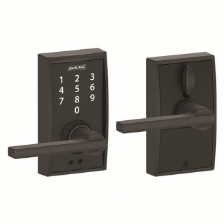 Schlage FE695CEN622LAT Century Touch™ Entry Lever Set with Latitude Lever