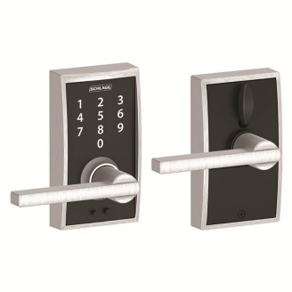 Schlage FE695CEN626LAT Century Touch™ Entry Lever Set with Latitude Lever