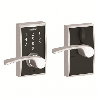 Schlage FE695CEN626MER Century Touch™ Entry Lever Set with Merano Lever