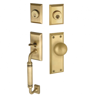 Grandeur Fifth Avenue Handlest, shown w/double cylinder and Fifth Avenue Knob