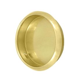 Deltana FP221R-3 Flush Pull Polished Brass