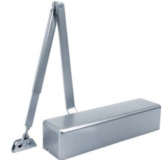 Pamex Heavy Duty GC5900 Series Door Closer shown in Aluminum