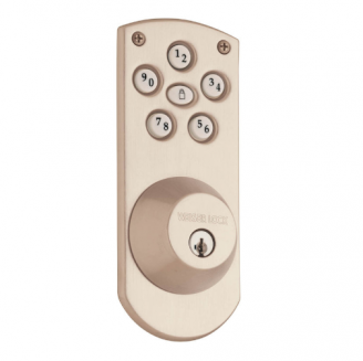 Weiser GED1460X Powerbolt Touchpad Electronic Deadbolt with Weiser key way