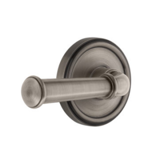 Grandeur Georgetown Lever Set with Georgetown Rose Antique Pewter
