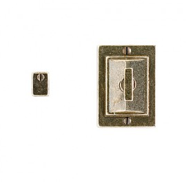 Rocky Mountain IP21014 Mack Privacy Mortise Bolt with Emergency Release Trim