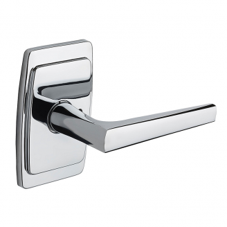 Baldwin Estate L024 Lever Set with R046 Rose Polished Chrome