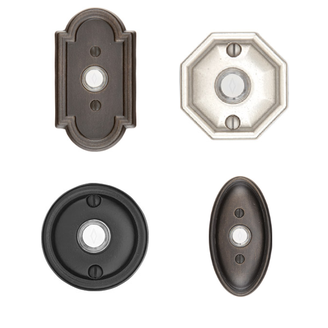 Emtek Lost Wax Cast Bronze Door Bell Low Price Door Knobs