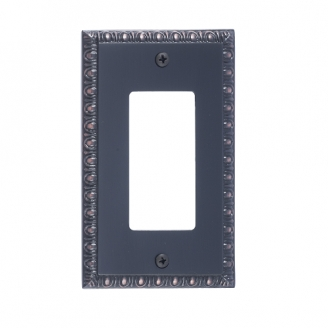 Brass Accents M05-S7520-613VB Egg & Dart Single GFCI Switch Plate
