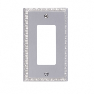 Brass Accents M05-S7520-619 Egg & Dart Single GFCI Switch Plate