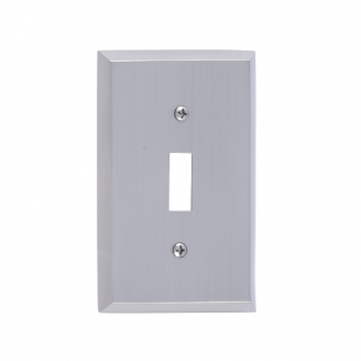 Brass Accents M07-S4500-619 Quaker Single Switch Plate