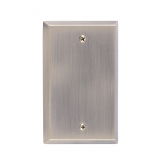 Brass Accents M07-S45X0-609 Quaker Single Blank Plate