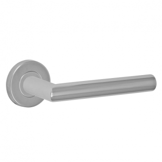 Fusion Stainless Steel Euro-Trim Collection 2060 Lever Polished Stainless Steel