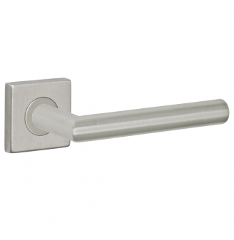 Fusion Stainless Steel Euro-Trim Collection 2060 Lever with Square Rose BSS