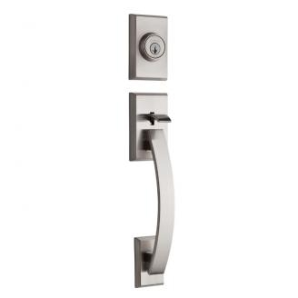 Kwikset Tavaris Handleset shown in Satin Nickel (15)