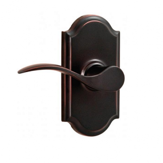 Weslock 1710U Bordeau Privacy with Premiere Rose Oil Rubbed Bronze