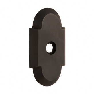 Nostalgic Warehouse Cottage Short Plate Privacy Function Oil Rubbed Bronze (OB)