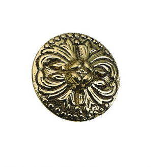 Brass Accents Deco Cabinet Knob